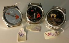 ORIGINALI LOTTO 3 orologi russi USSR CCCP 1980's Slava reloj watch job lot NOS