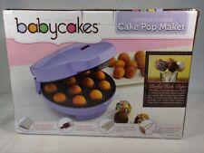 BabyCakes Cake Pop Maker - NEW