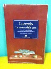 Lucrezio LA NATURA DELLE COSE testo originale a fronte - Oscar Mondadori 2013