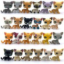10PCS LPS toys Littlest Pet Shop cats lot short hair cat send random girls toy