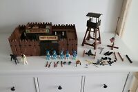 playmobil 3419 setnr. randall cowboy, indian, native, fort, western, vintage