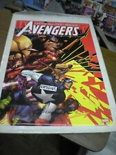 Vintage 2004 Avengers #500 Poster art by David Finch NEW SEALED 24x36 inches