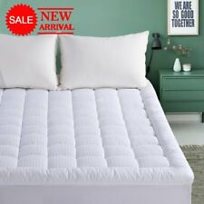 Queen Mattress Pad - 300TC Down Alternative Pillow Top Mattress Topper,Quilted