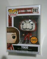 Funko POP CHASE TOKIO  LA CASA DE PAPEL  MONEY HEIST + FUNKO POP PROTECTOR