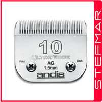 Andis Dog Clippers UltraEdge AGC/AGC2/MBG/MBG2 Blade #10 Leaves Hair 1.5mm