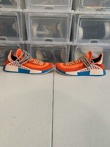 ADIDAS NMD Hu Pharrell Extra Eye Orange Size 10