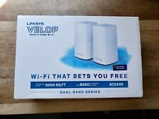 Linksys Velop AC2400 Whole Home Wi-Fi Mesh Router 2 Pack