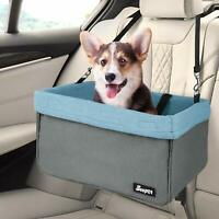 JESPET Dog Booster Seats for Cars, Portable Dog Car Seat Travel Carrier