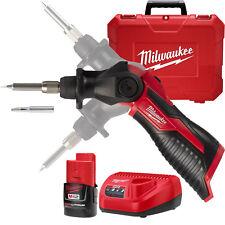 Milwaukee 2488-21 M12 Cordless Soldering Iron Kit New