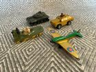 Tank and Spitfire Toys - Matchbox and Zylmex