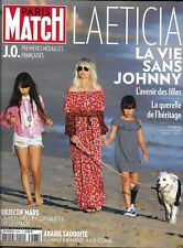 PARIS MATCH n°3588 15/02/2018  Laeticia: la vie sans Johnny Hallyday/ Elon Musk