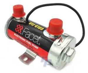 Facet Silver Top Benzinpumpe, 136 L/h, Vergaser, Kraftstoff pumpe, raceparts cc