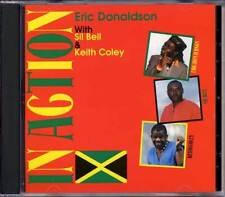Music CD Eric Donaldson In Action Sil Bell Keith Coley Reggae Sealed Album