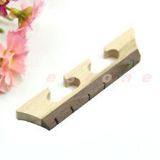 Maple & Ebony Banjo Bridge Three Legged Bridge for 6 String Banjo Ukulele