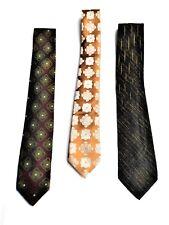 3 cravates vintage -1960's- Allemagne / France