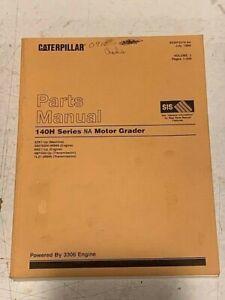Caterpillar 140H 2ZK Motor Grader Parts Manual Volume 1