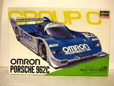 Hasegawa Porsche 962C Omron racing team car kit