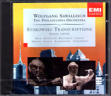 Wolfgang SAWALLISCH: STOKOWSKI TRANSCRIPTIONS Marjana Lipovsek Bach Debussy CD