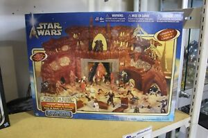 Star Wars Attack of the Clones Geonosis Battle Arena Playset 2002 MIB NEW