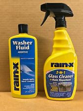 Rain-X 2 in 1 Cleaner & Treatment Spray W/ Water Repellent Washer Additive