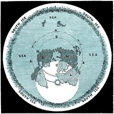 Rowbotham's Flat Earth Map of the World :  circa 1873