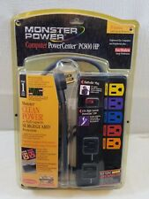 Monster Computer PowerCenter PC800 HP Clean Power Stage 1 Surge Protection NEW!!