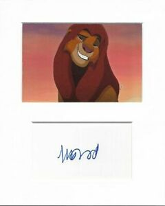 Matthew Broderick the lion king authentic hand signed autograph signature AFTAL
