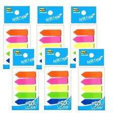 3m Post It Flags 584 5 Bookmark Point Sticky Plastic Paper Index X 6 Pcs