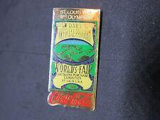 Pin's pins St Louis 1904 USA Coca-Cola 3 ème  jeux olympiques + attache