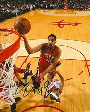 ALEXIS AJINCA signed NEW ORLEANS PELICANS 8X10 PHOTO COA B
