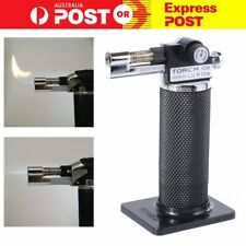 1300°C Windproof Welding Torch Cigarette Lighter Jet Flame Refillable Butane Gas