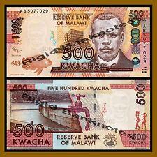 Malawi 500 Kwacha, 2012 P-61 Unc