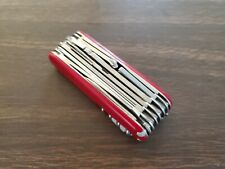 Vintage Red Victorinox SwissChamp Swiss Army Knife Great Condition!