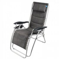2 x DELUXE OPULENCE RECLINER CHAIRS is multi postion lounger for garden Modena