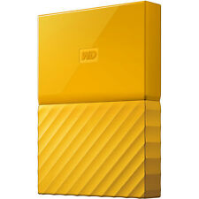 Western Digital Hard Disk esterno My Passport 4tb Giallo