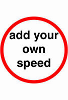 60 IN ROUNDEL Temporary Traffic Signs