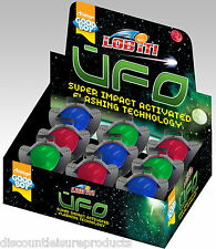Good Boy Dog/Puppy Toy - UFO Flashing Light Up Dog Toy Bouncing Ball