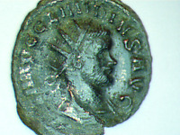 Claudius II Gothicus 268AD  Ancient Roman Coin Good luck Cult Commerce
