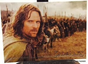 The Lord of The Rings postcard official fun club postcard.