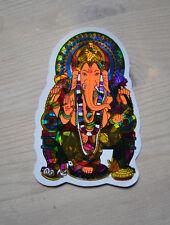 Aufkleber goa psy hippie Glück Ganesha Ganesh sticker indien India inde elefant
