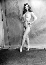 Bettie Page nude pinup 8x10 print 001