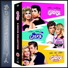 Grease 40th Anniversary Triple Greasegrease 2grease Live DVD 2018