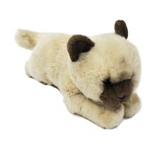 """Animal Alley Toys R Us Siamese Cat Plush Himalayan Realistic Classroom 10"""""""