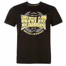 Everlast Printed T Shirt pour homme, taille S, Bnwt