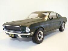 1 12 NOREV Ford Mustang Fastback Coupe 1968 Matt-greenmetallic