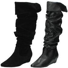 Women's Textile Platforms & Wedge Boots