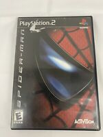 Spider-Man (Sony PlayStation 2, 2002) PS2 Black Label Complete Tested Free Ship