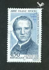 FRENCH POSTAGE - ABBE FRANZ STOCK 1940 4,50 EUROS STAMP-LA POSTE FRANCE 1998