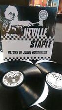 NEVILLE STAPLE - RETURN OF JUDGE ROUGHNECK 2 LP SET SKA 2 TONE DUB (SPECIALS)