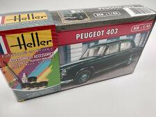 Maquette Peugeot 403 Heller avec peintures fabrication Francaise echelle1:43